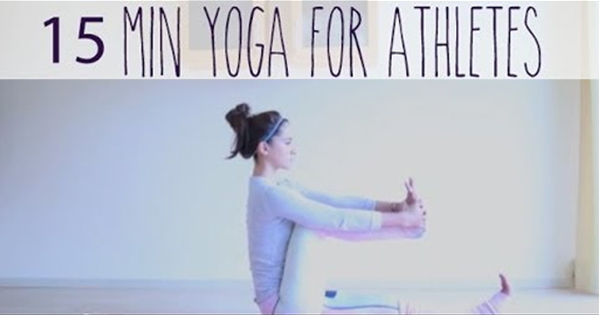 Gentle 15 Minute Yoga for Tight Hips and Hamstrings