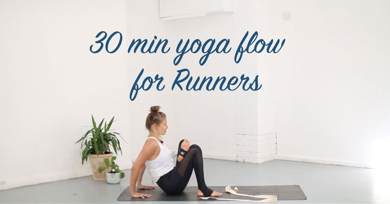 30 minute yoga flow for runners